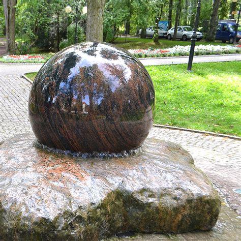 Kugelbrunnen Romano Mit Granitkugel