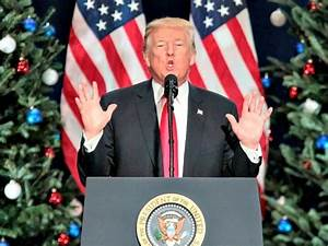 Left-Wing Media Bash Trump over 'Merry Christmas' Message ...
