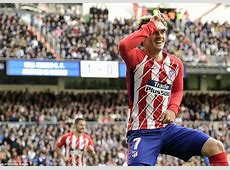 Real Madrid 11 Atletico Madrid Griezmann cancels out