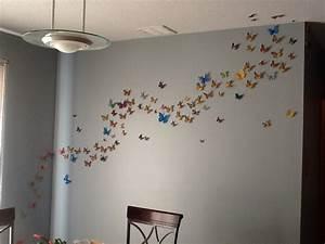 heidi39s hubbub butterfly wall art With butterfly wall art