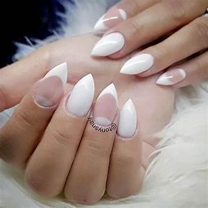 stiletto nails seeking attention