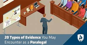 20 Types Of Evidence You May Encounter As A Paralegal
