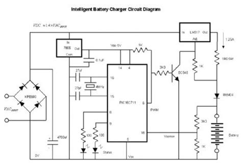 Intelligent Nicd Nimh Battery Charger Circuit Diagram World