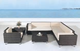 avrim patio sectional sofa set tropical outdoor lounge