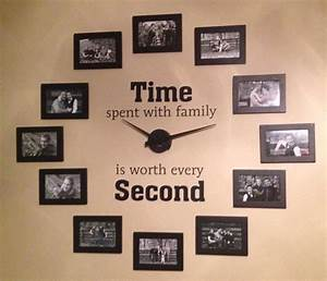 Diy family wall clock for Diy family wall clock