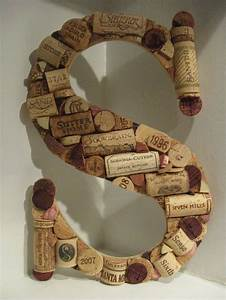 17 best ideas about wine cork letters on pinterest cork With letter wine