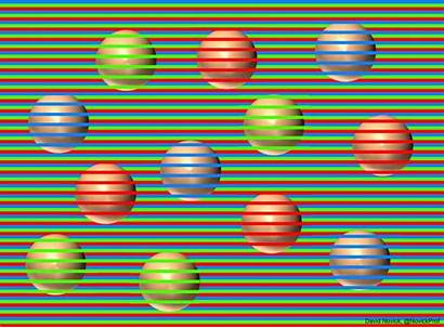Why Brain Colours Seeing Balls Same Wrong