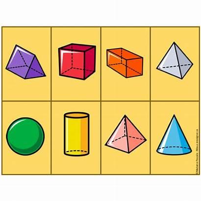 Solides Figures Jeux Cartes