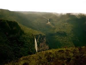 Brazil Amazon Rainforest Waterfall