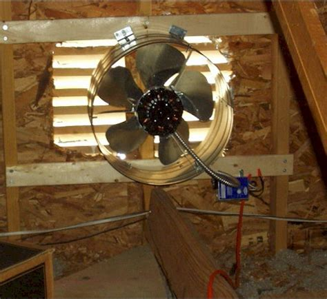 how to install an attic fan attic fan how to install an attic fan electric fans