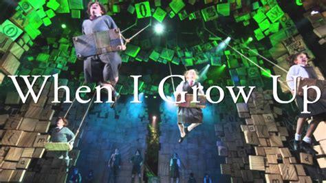 When I Grow Up - Matilda the Musical + LYRCIS - YouTube