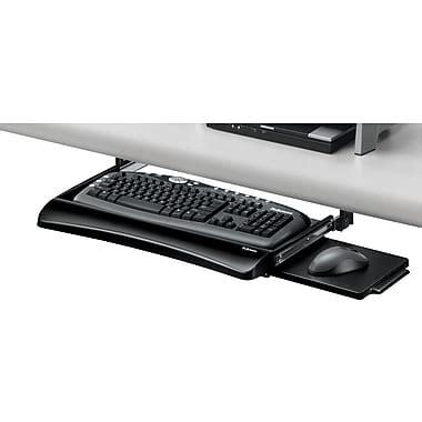 staples under desk keyboard tray fellowes office suites underdesk keyboard drawer staples