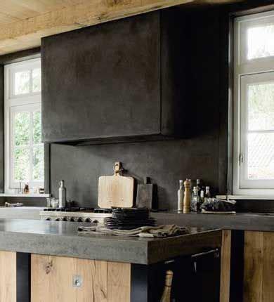 cuisine bois beton cuisine beton cite bois recherche deco