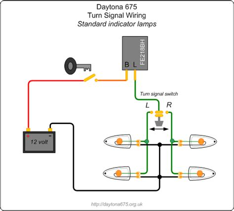 Ducati Led Light Wiring Diagram by Led Turn Signal Flasher Wiring Diagram Hobbiesxstyle