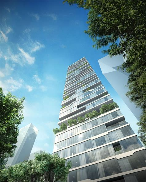 Gallery Of Paralx Designs New Residential Tower In Beirut