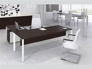 Bureau Moderne Design : mobilier bureau moderne design table informatique pas cher lepolyglotte ~ Teatrodelosmanantiales.com Idées de Décoration