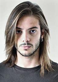 Rock Hairstyle Men Long Hair