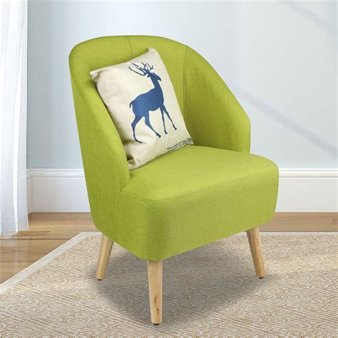 Upholstered Living Room Club Chairs by Upholstered Fabric Club Chair Accent Chair W Free