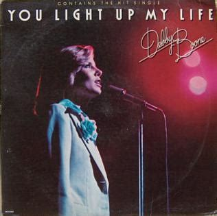 you light up my you light up my debby boone album
