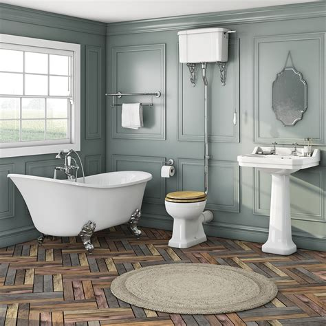 camberley high level oak suite with elegant elsie bath