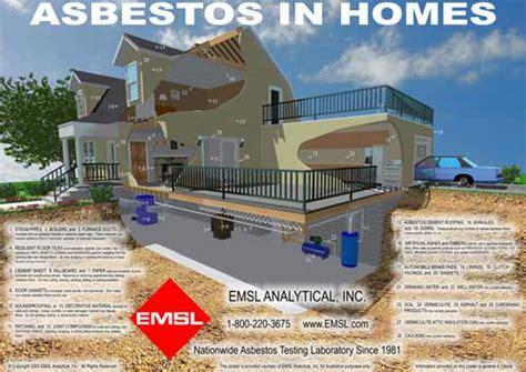 asbestos  homes poster  environmental professionals