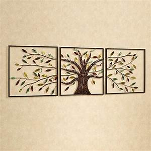 Wall art ideas design ever changing tree