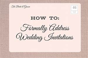 how to address oasis amor fashion With how to address informal wedding invitations