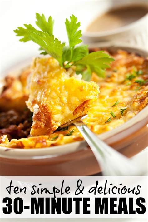 new and exciting dinner recipes ten simple delicious 30 minute meals