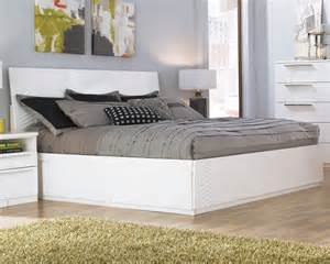28 white bed with storage scacco charming size