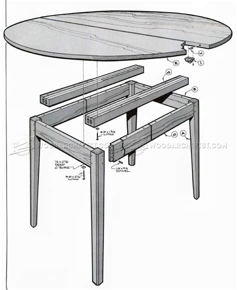 oval table with end extensions oval extension table plans woodarchivist 7252