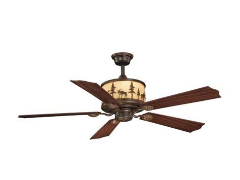 vaxcel lighting fn56305 rustic country five blade indoor