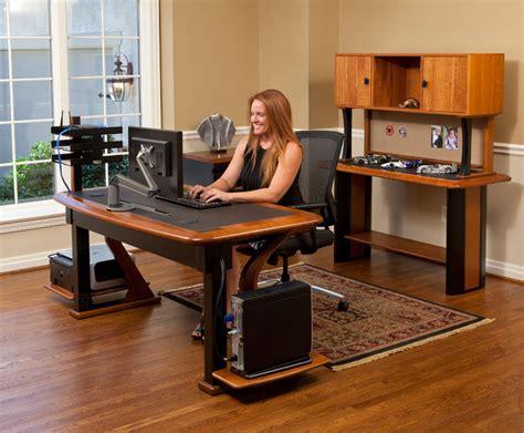 computer desk cable artistic computer desk full caretta workspace