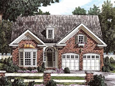 cottage style brick homes small english tudor style homes eplans cottage house plan