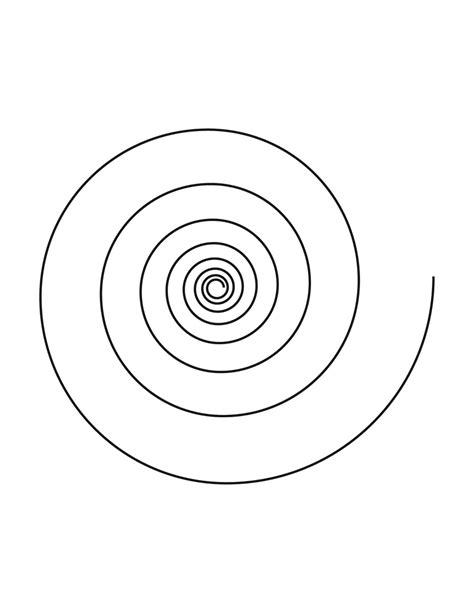 spiral clipart
