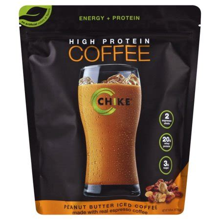 Chike high protein iced coffee provides a powerful combination of 2 shots of premium espresso coffee and 20g of whey protein to help provide focus and fuel to. Chike Nutrition, High Protein Coffee Peanut Butter Iced Coffee 14 Servings - Walmart.com