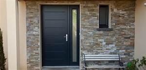 porte d39entree aluminium a la rochelle With porte d entrée pvc avec menuiserie aluminium prix
