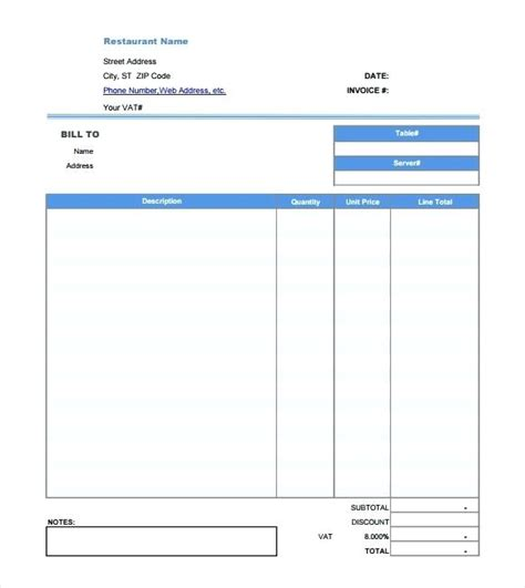 Dinner Receipt Template by Dinner Receipt Template Gecce Tackletarts Co