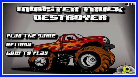 monster truck video games for kids monster truck destroyer flash game walkthrough 11