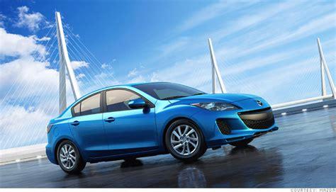 consumer reports  reliable cars small car mazda
