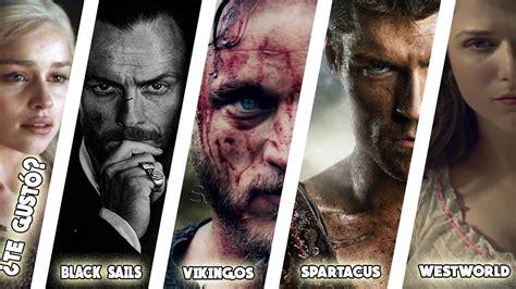 Series Como Game Of Thrones/juego De Tronos Top 10 (estilo