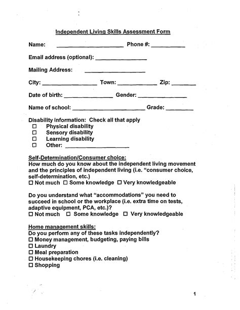 best images of life skills worksheets pdf free
