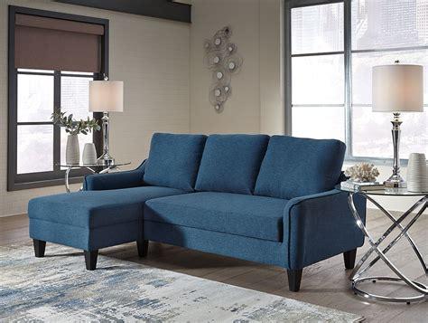 Blue Sofa Sleeper by Jarreau Blue Sofa Chaise Sleeper By Signature Design By