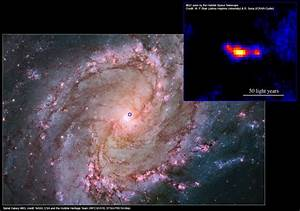 MQ1: Powerful Black Hole Discovered in Messier 83 ...
