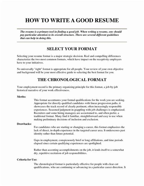 Resume For Employers by Resume Format Employers Prefer Employers Format