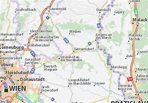 Entfernung Berechnen Maps : karte stadtplan g nserndorf viamichelin ~ Themetempest.com Abrechnung