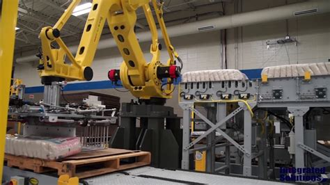 robotic palletizer  fanuc robot pallettool turbo