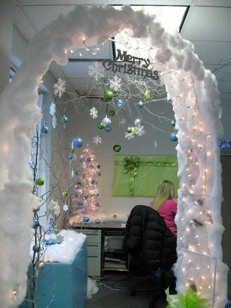 christmas cubicle ideas christmas cubicle winter
