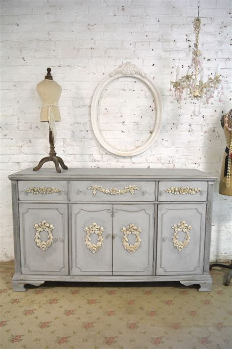 Cottage Chic Furniture Vintage Painted Shabby Chic Furniture