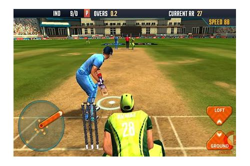 real cricket test game free download