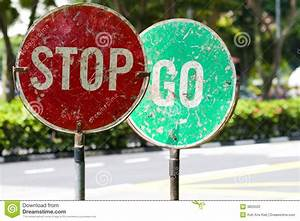 Stop And Go : stop and go traffic road signs stock photo image 3825020 ~ Medecine-chirurgie-esthetiques.com Avis de Voitures
